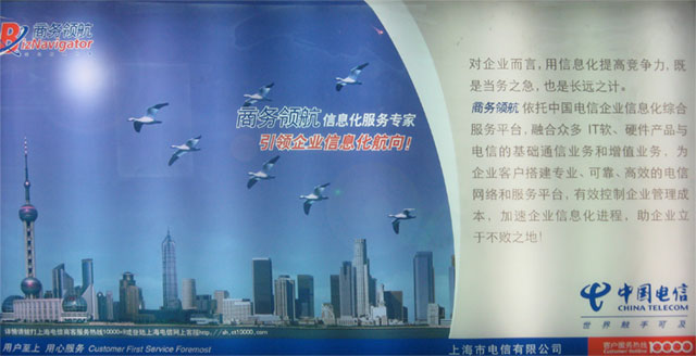 China Telecom Biz Navigator